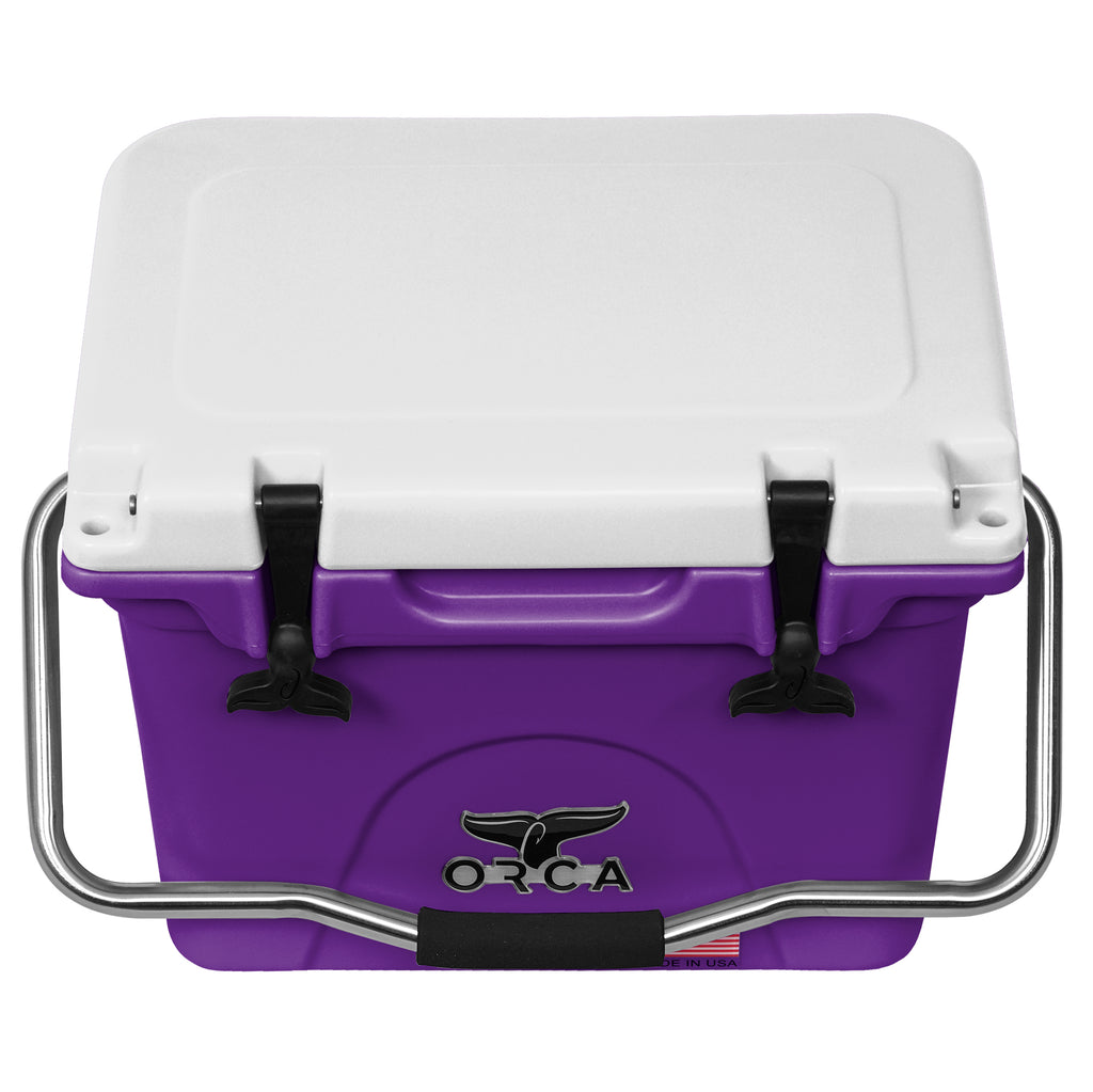 Purple/White 20 Quart - ORCA
