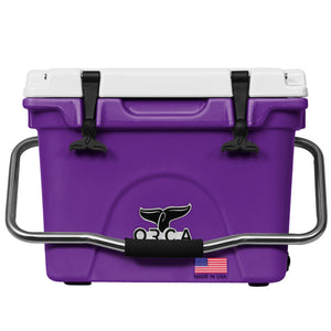 Purple/White 20 Quart