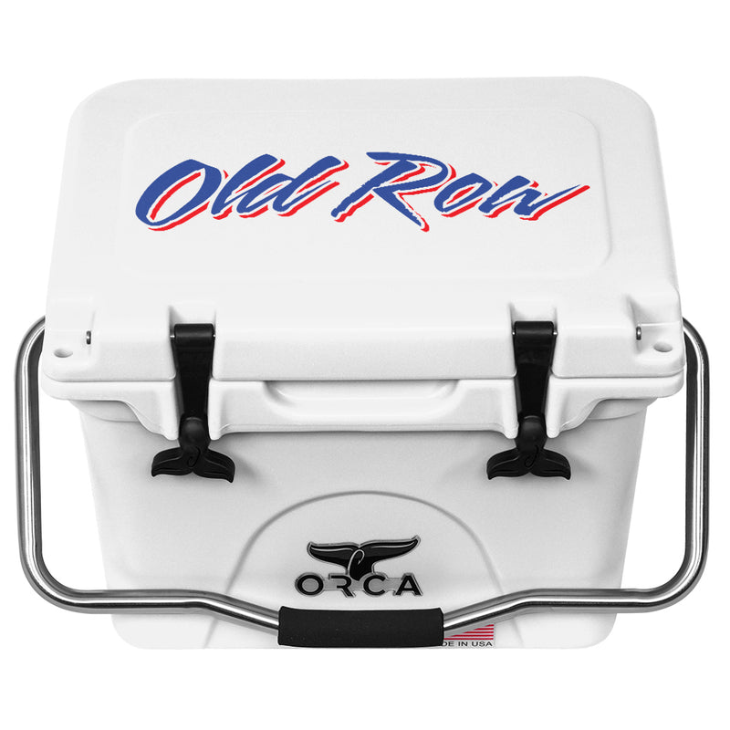 Old Row White 20qt - OR Logo - ORCA