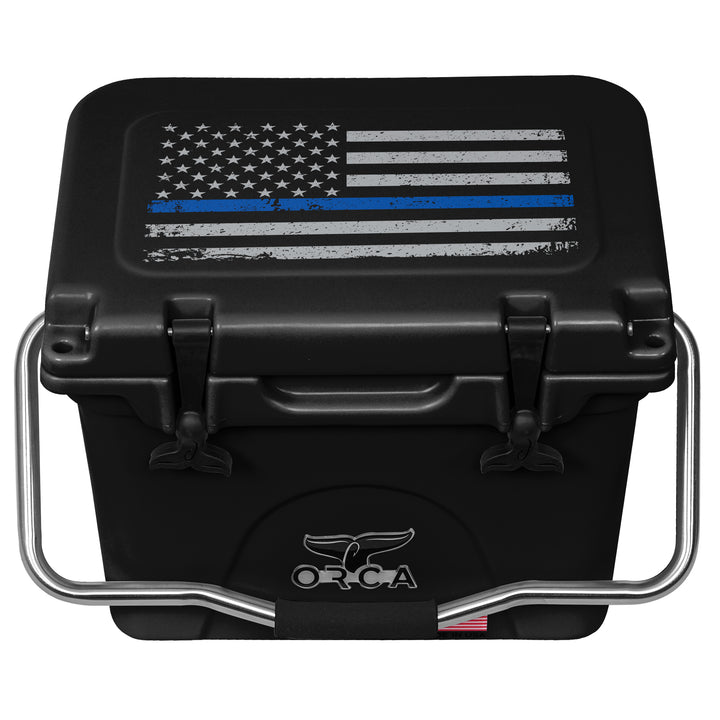 First Responder Thin Blue Line 20 Quart