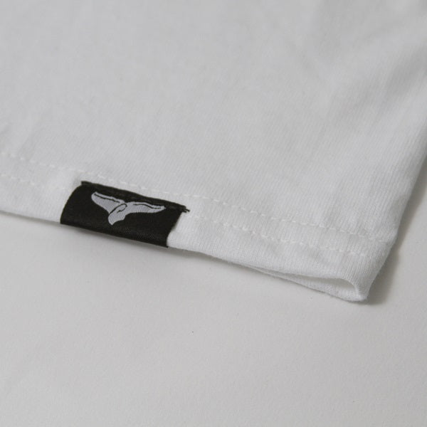 Ocean Logo White Short Sleeve - ORCA