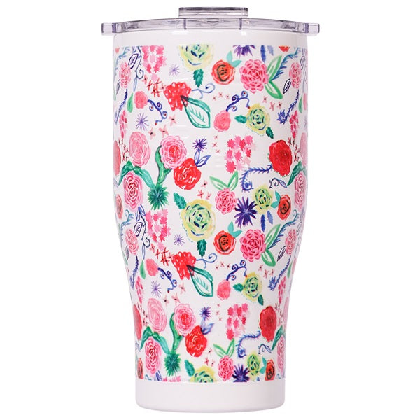 Bright Blooms Chaser 27oz Pearl/Clear