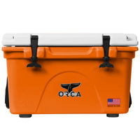 Burnt Orange/White 26 Quart - ORCA
