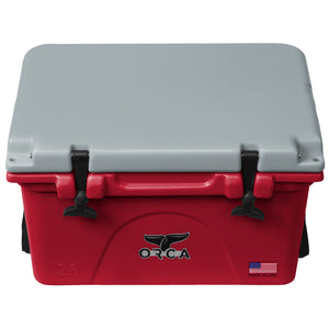 Crimson/Grey 26 Quart - ORCA