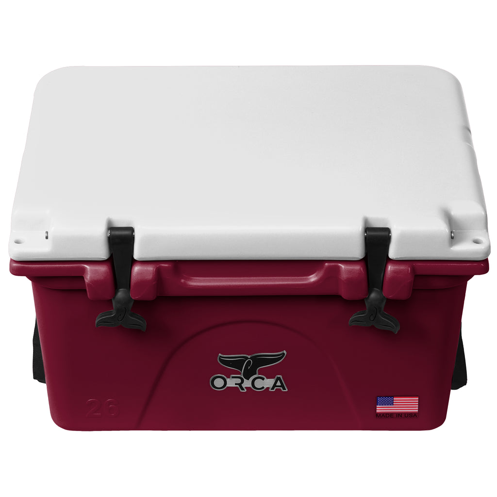 Dark Maroon/White 26 Quart - ORCA