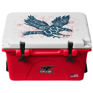 Freedom Eagle Red/White 26 Quart