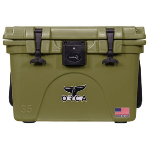 Green Liddup 35 Quart - ORCA
