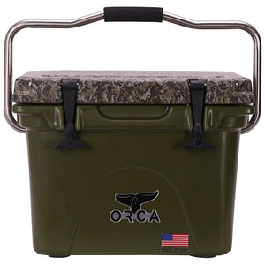 Desolve Wing Camo Lid Green 20 Quart