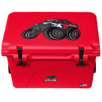 Red 40 Cooler Terrible Herbst Landshark Truck - ORCA