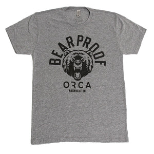Bear Proof Heather Short Sleeve Grey