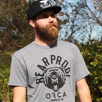 Bear Proof Heather Short Sleeve Grey - ORCA