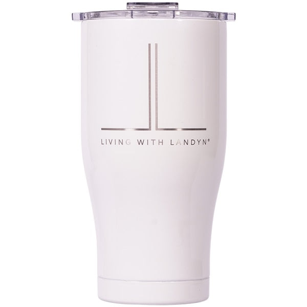 Living With Landyn Chaser 27oz Pearl/Clear