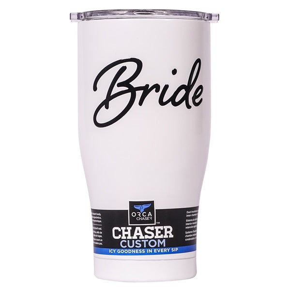 Bride Pearl/Clear 27oz Chaser - ORCA