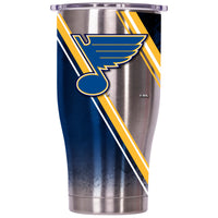 St. Louis Blues Double Stripe Wrap Chaser 27oz - ORCA