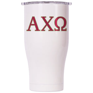 Alpha Chi Omega Pearl/Clear Chaser 27oz - ORCA