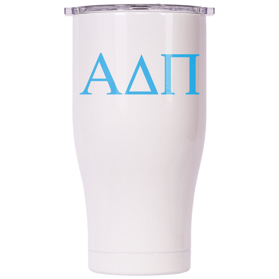 Alpha Delta Pi Pearl/Clear Chaser 27oz
