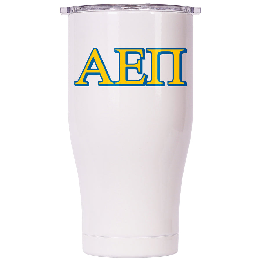 Alpha Epsilon Pi Pearl/Clear Chaser 27oz