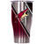 Arizona Coyotes Double Stripe Wrap Chaser 27oz - ORCA