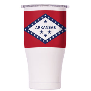 Arkansas State Flag Chaser 27oz - ORCA