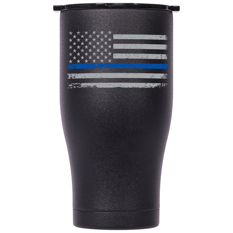 First Responder Thin Blue Line 27oz Chaser - ORCA
