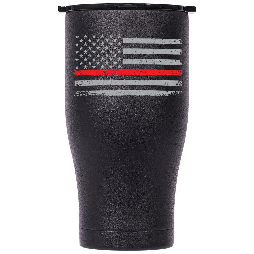 First Responder Thin Red Line 27oz Chaser - ORCA
