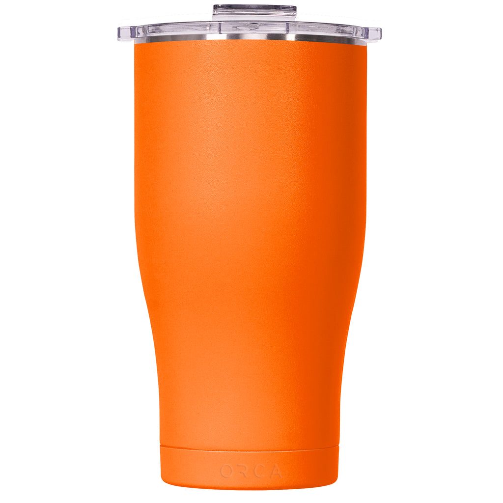 Blaze Orange/Clear Chaser 27oz - ORCA