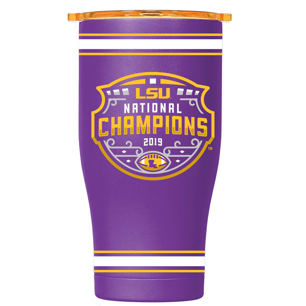 LSU Logo Purple National Champions 27 oz Chaser - ORCA