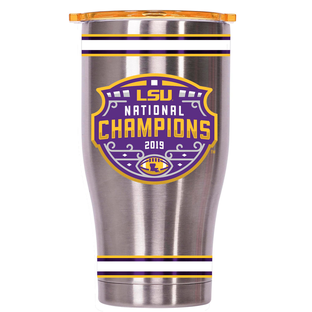 LSU Stainless Logo National Champions 27 oz Chaser - ORCA