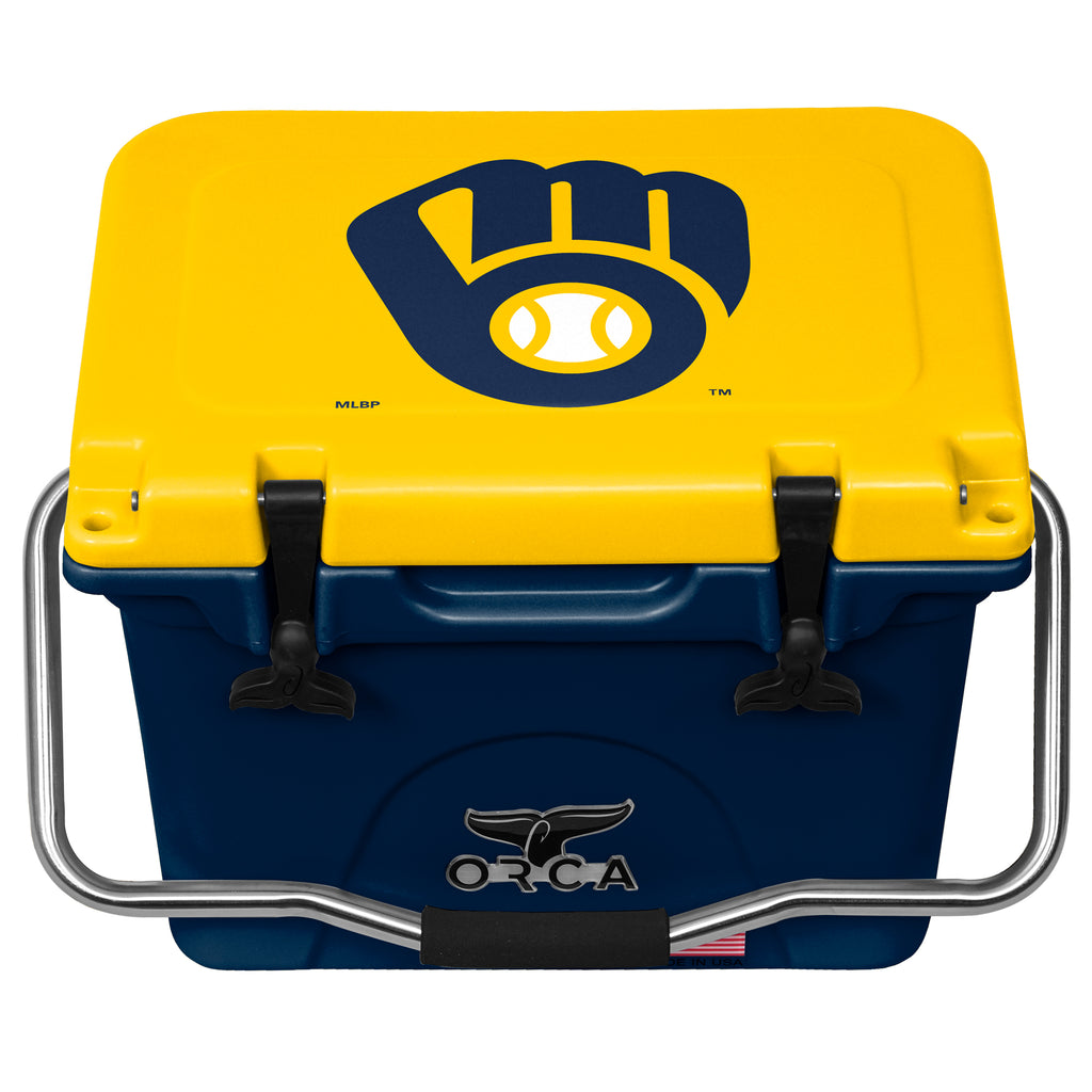 Milwaukee Brewers 20 Quart Navy/Yellow - ORCA