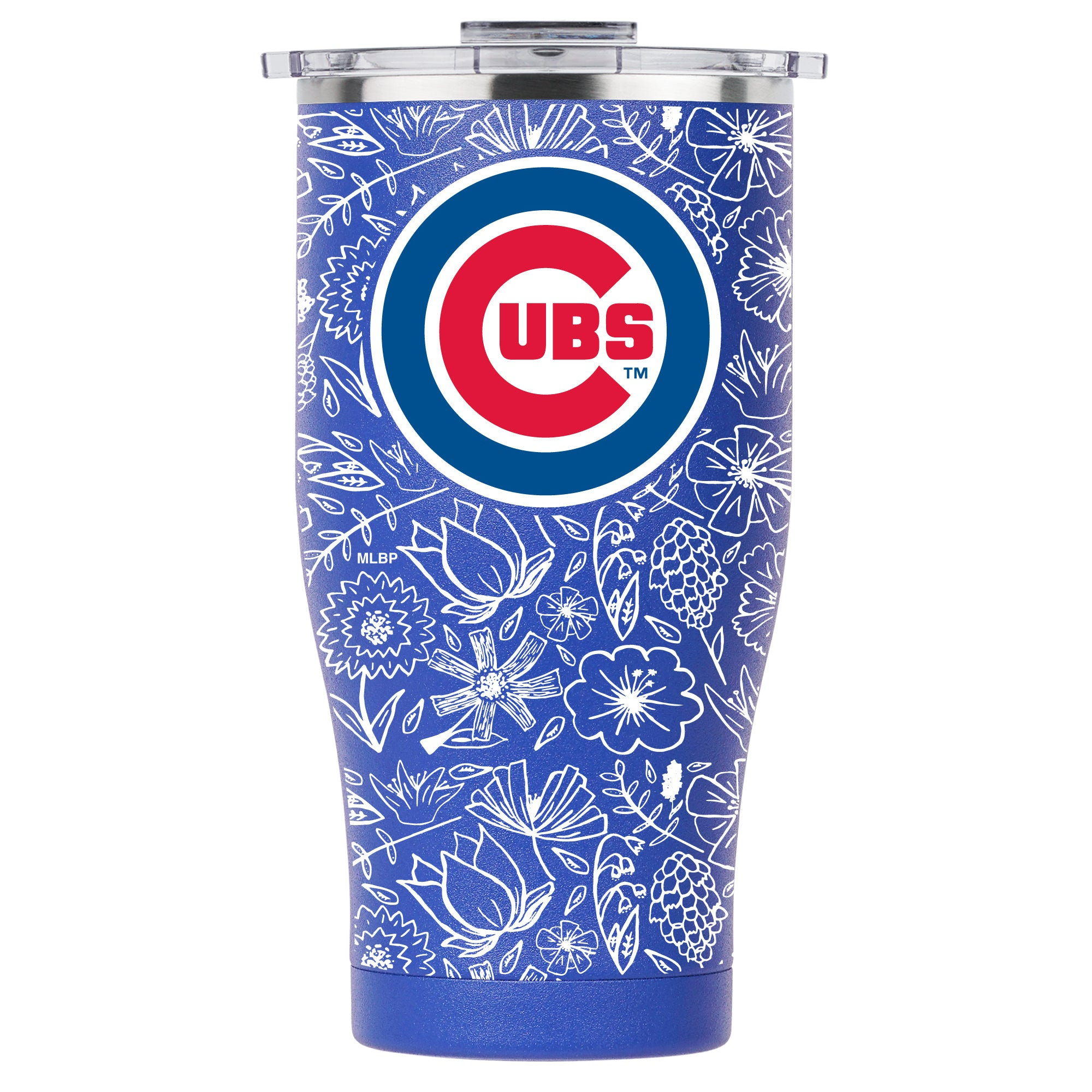 Chicago Cubs Floral Sketch Chaser 27oz Blue/Red - ORCA