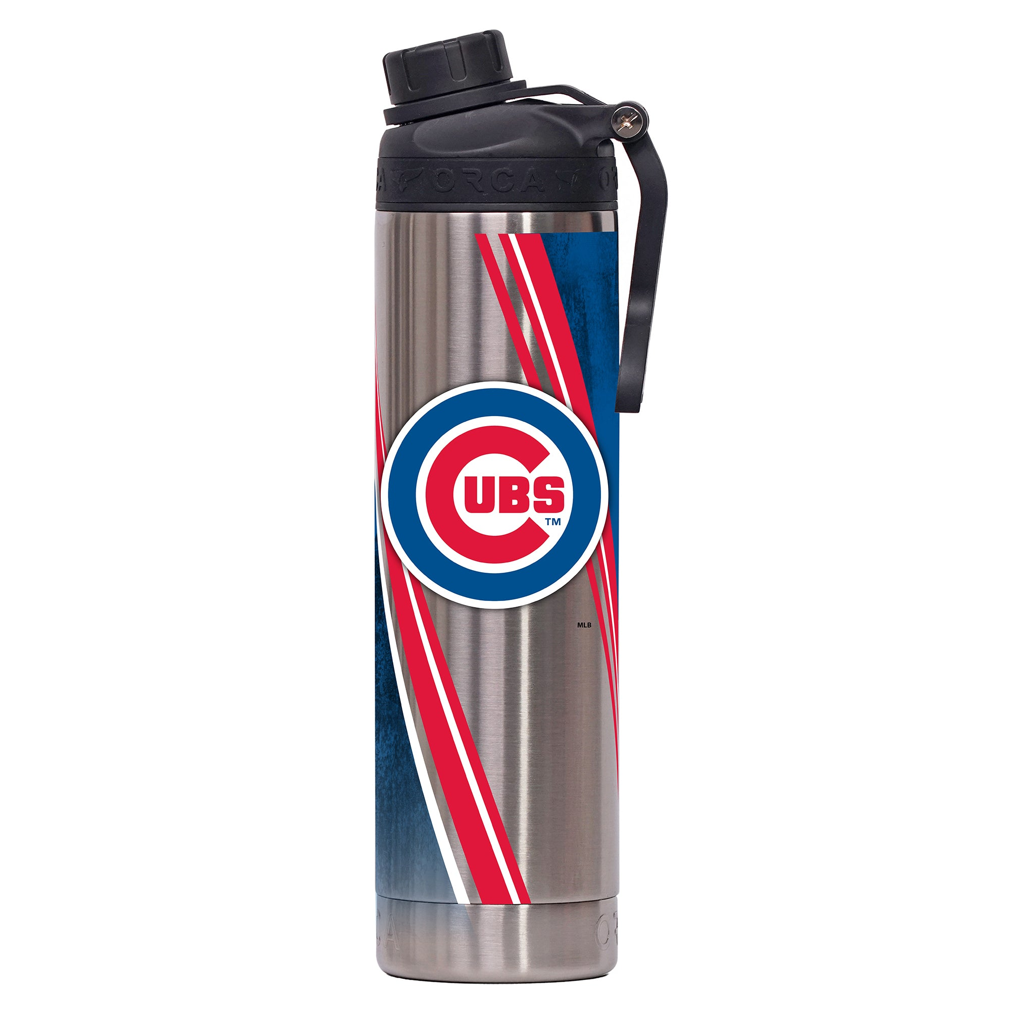 Chicago Cubs Double Stripe Wrap Hydra 22oz - ORCA