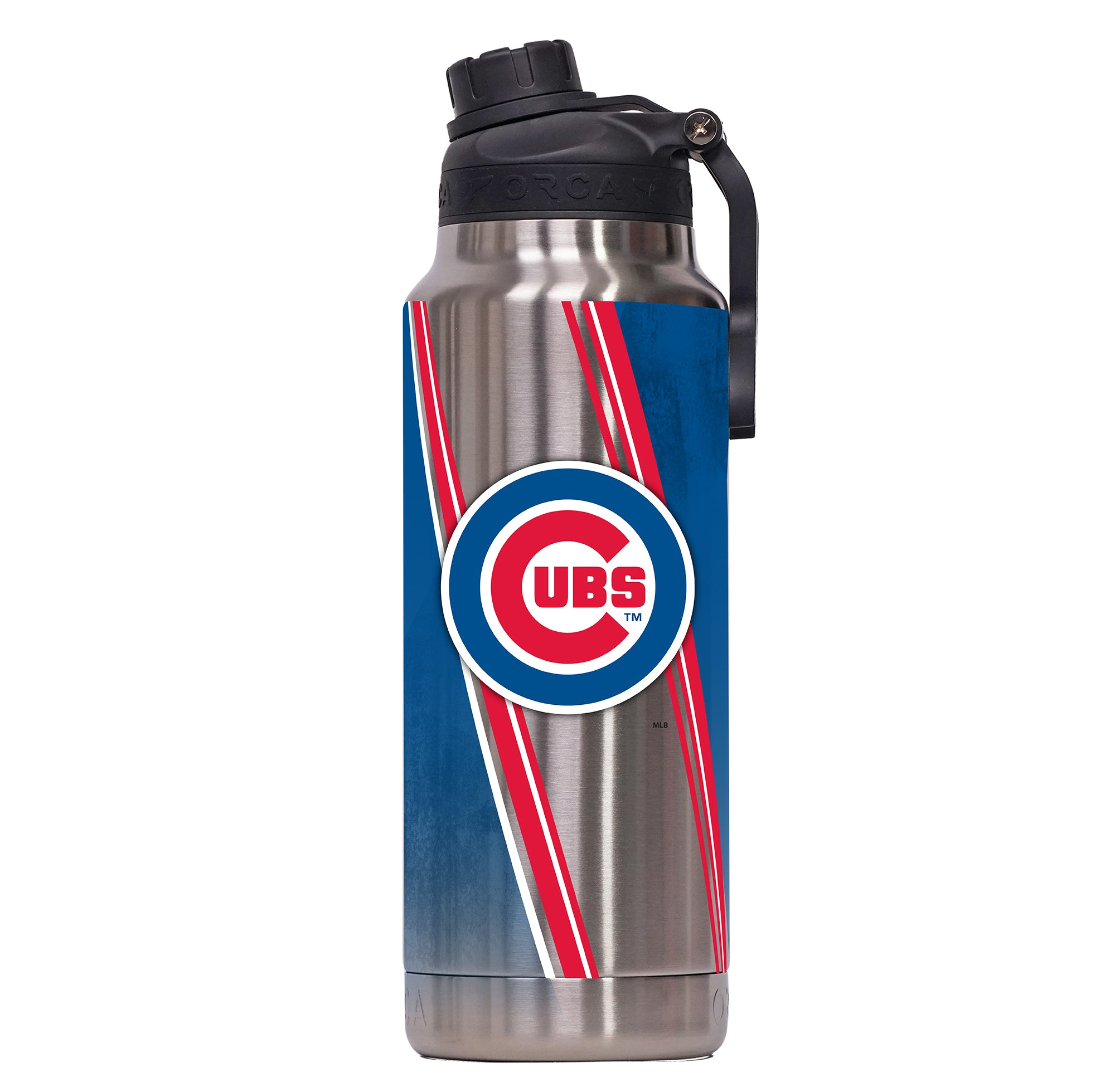 Chicago Cubs Double Stripe Wrap Hydra 34oz - ORCA