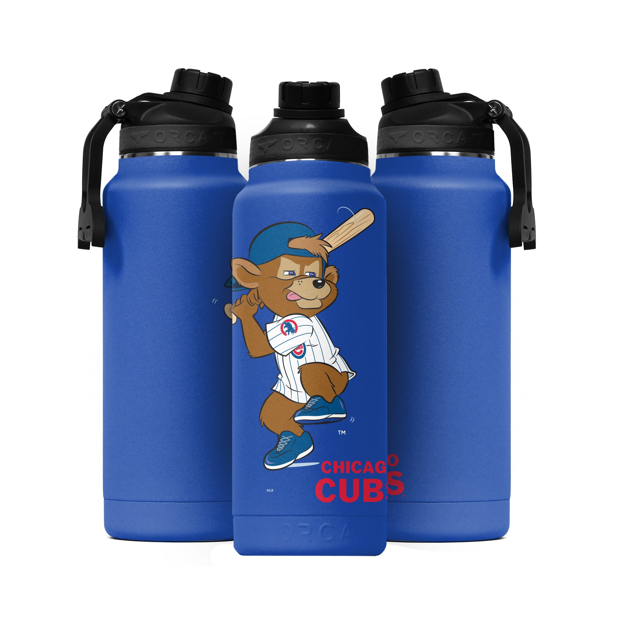 Chicago Cubs Mascot Action Hydra 34oz - ORCA
