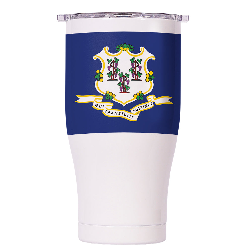 Connecticut State Flag Chaser 27oz - ORCA
