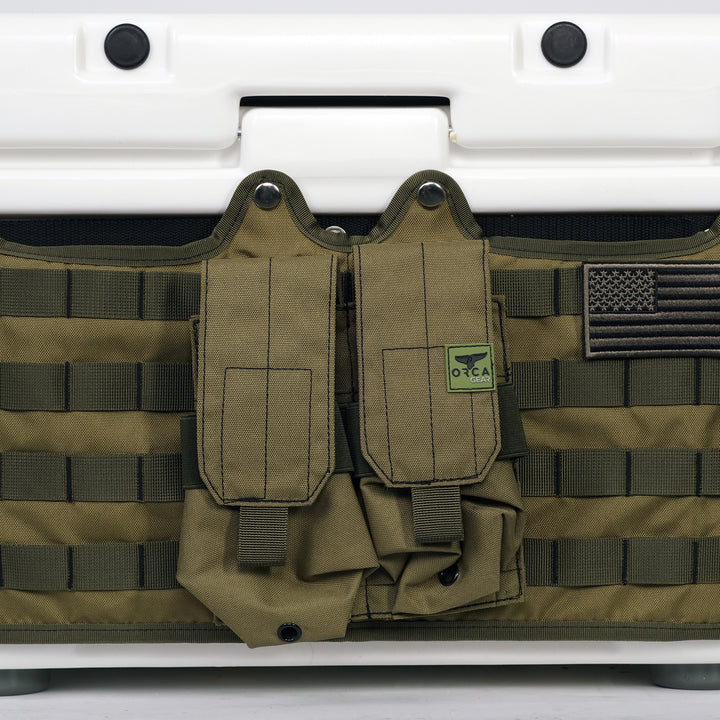 Quad Magazine Holder Desert Green - ORCA