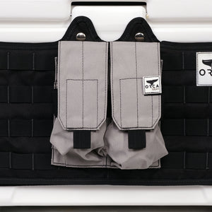 Quad Magazine Holder Grey/Black - ORCA