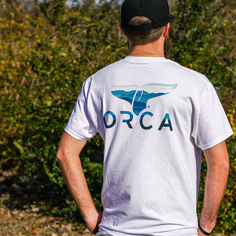 Mountains Logo Short Sleeve - ORCA