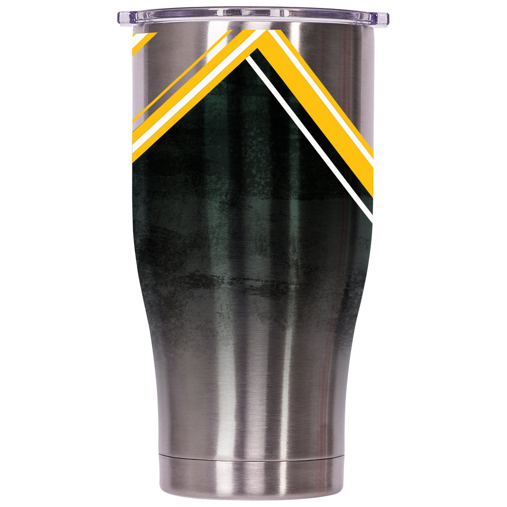 Green Bay Packers Double Stripe Wrap Chaser 27oz - ORCA