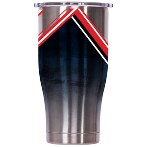 New England Patriots Double Stripe Wrap Chaser 27oz - ORCA