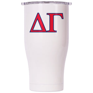 Delta Gamma Pearl/Clear Chaser 27oz - ORCA