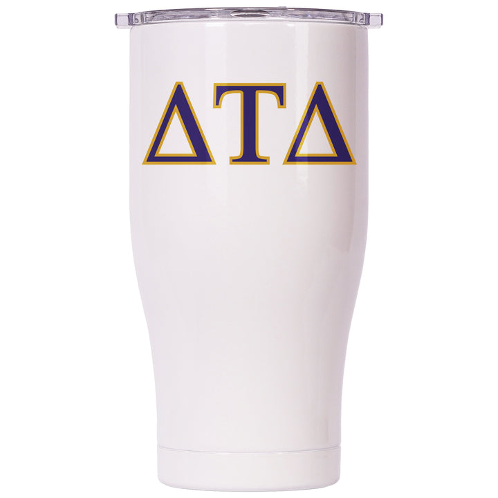 Delta Tau Delta Pearl/Clear Chaser 27oz - ORCA