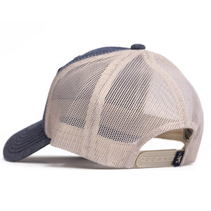 Heather Blue Patch Hat - ORCA