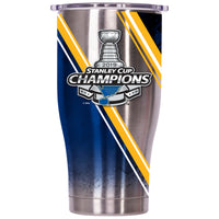 St. Louis Blues Stanley Cup Champs Double Stripe Chaser 27oz - ORCA