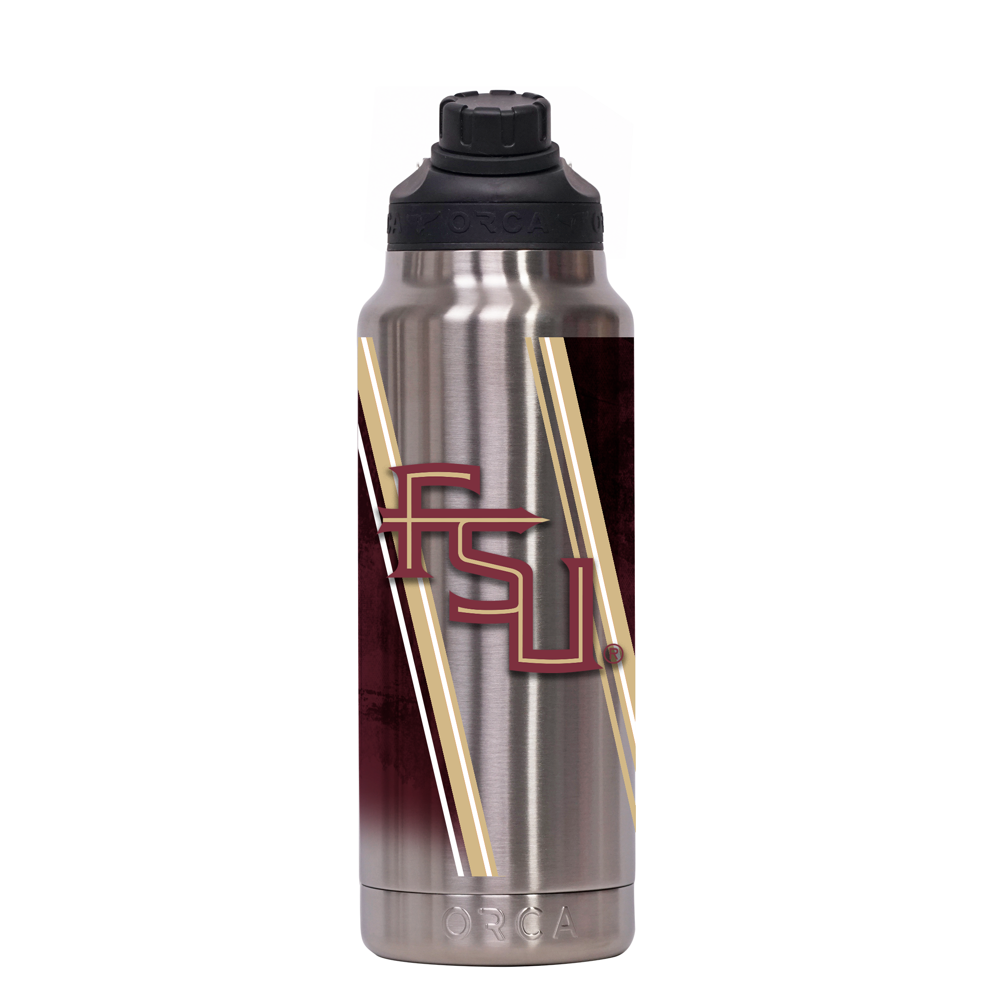 Florida State Double Stripe Wrap Hydra 34 oz. - ORCA