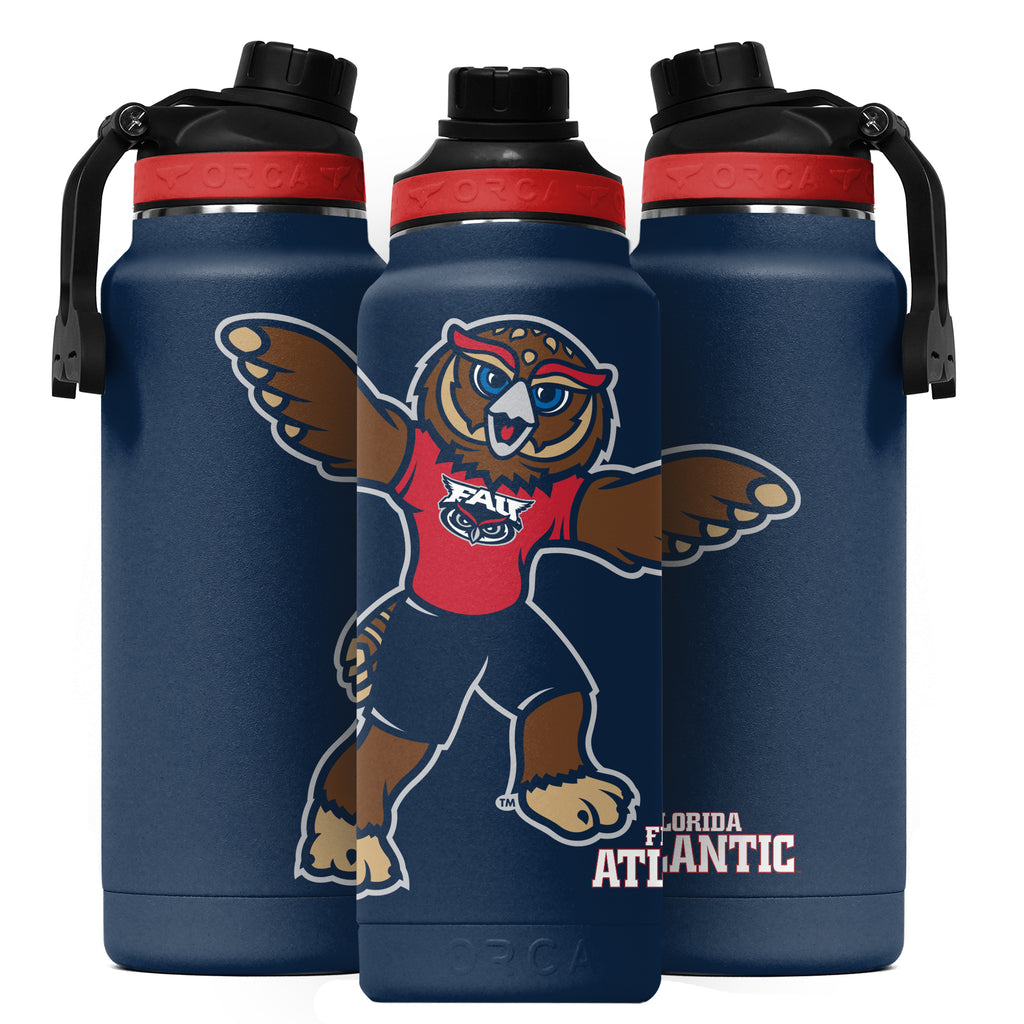 Florida Atlantic Mascot Hydra 34oz - ORCA