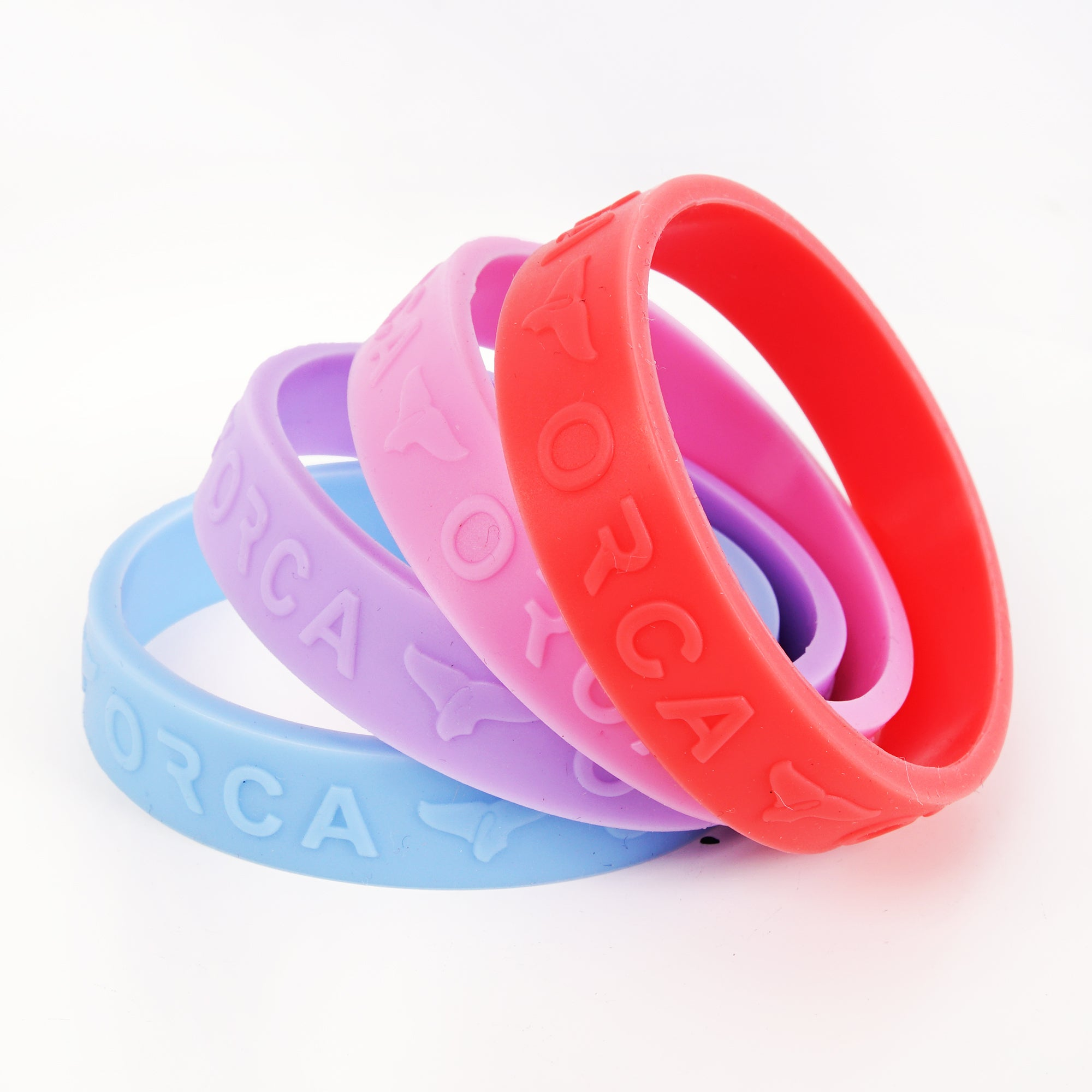Pastel Colors Band Set of 4
