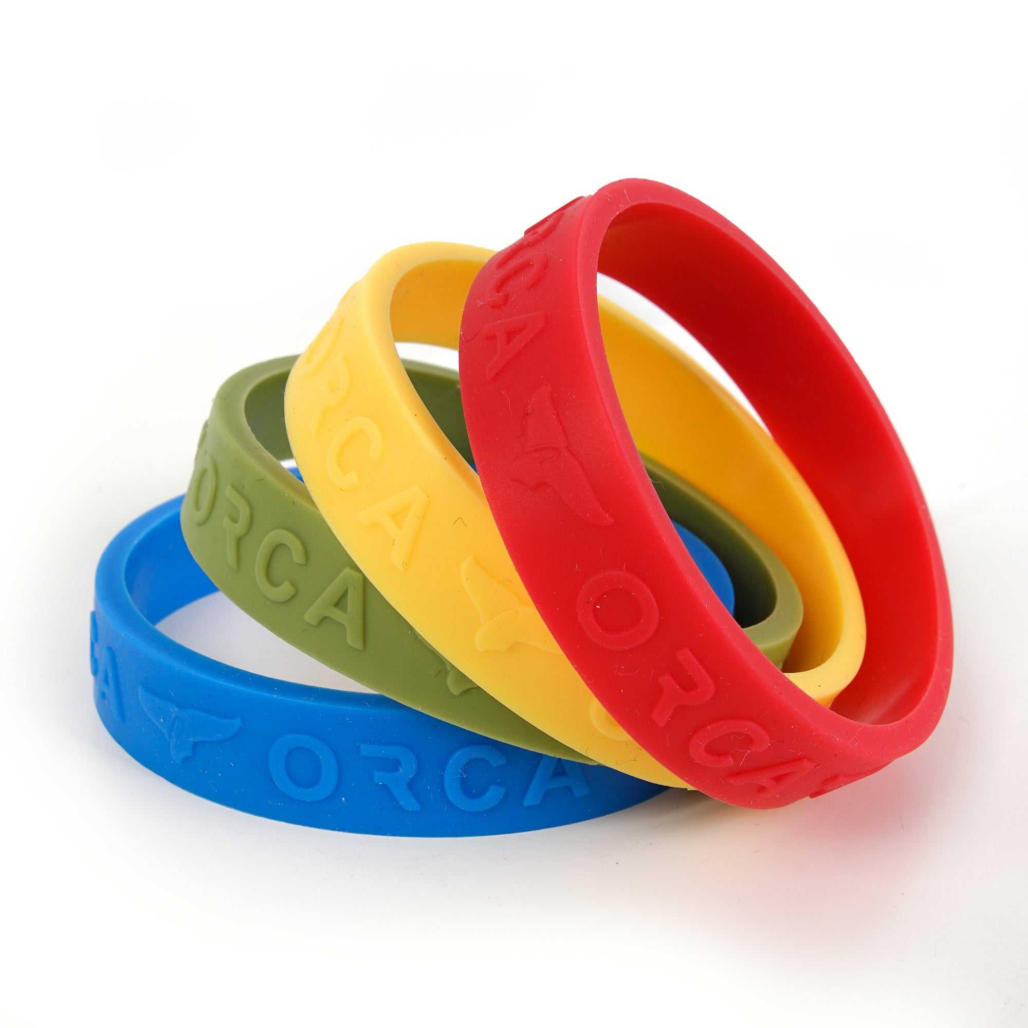 Primary Colors Band Set of 4