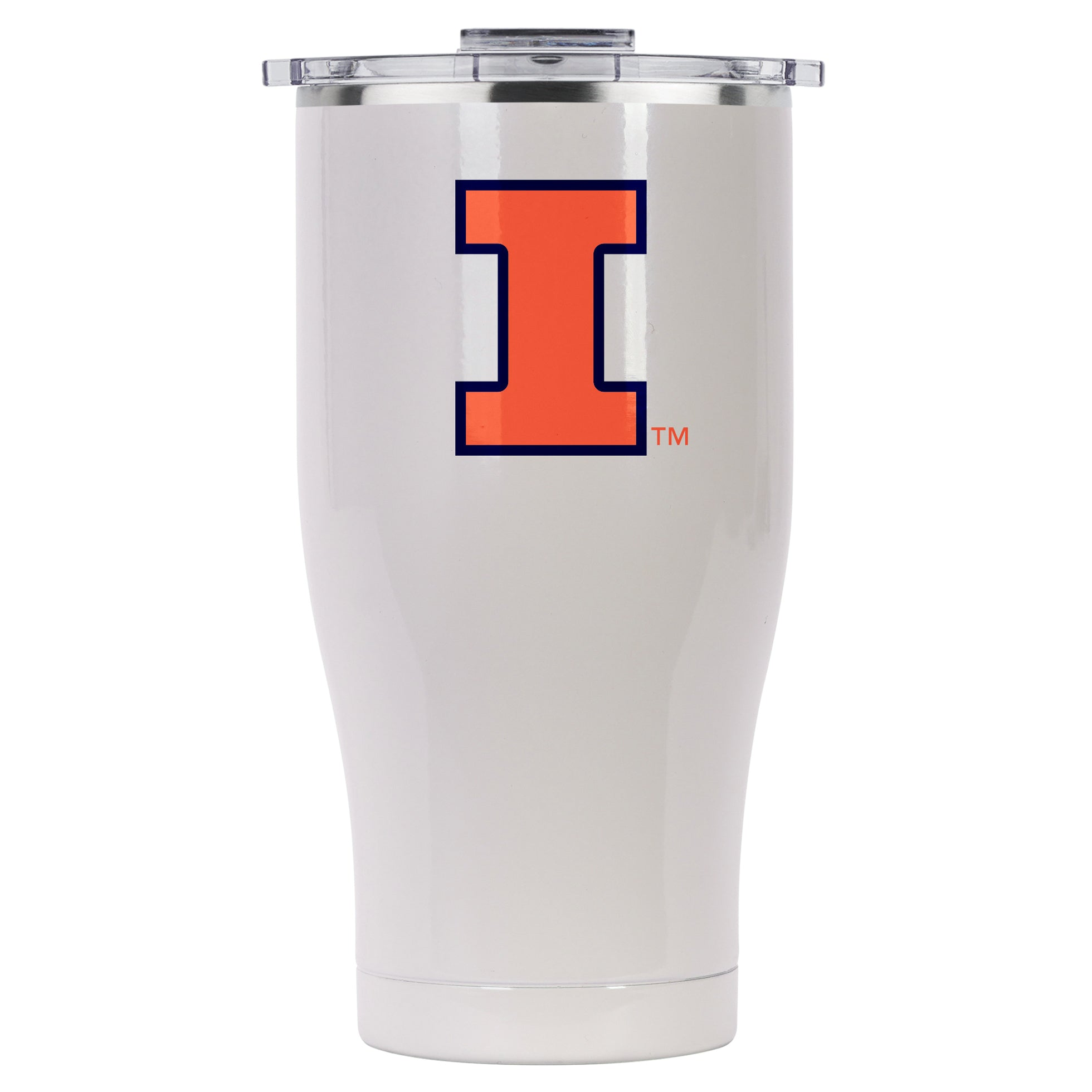 Univ. Of Illinois Pearl Color Logo 27oz Chaser