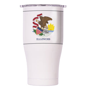 Illinois State Flag Chaser 27oz - ORCA