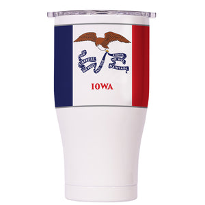Iowa State Flag Chaser 27oz - ORCA